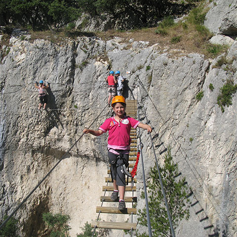 Via Ferrata climbing fun