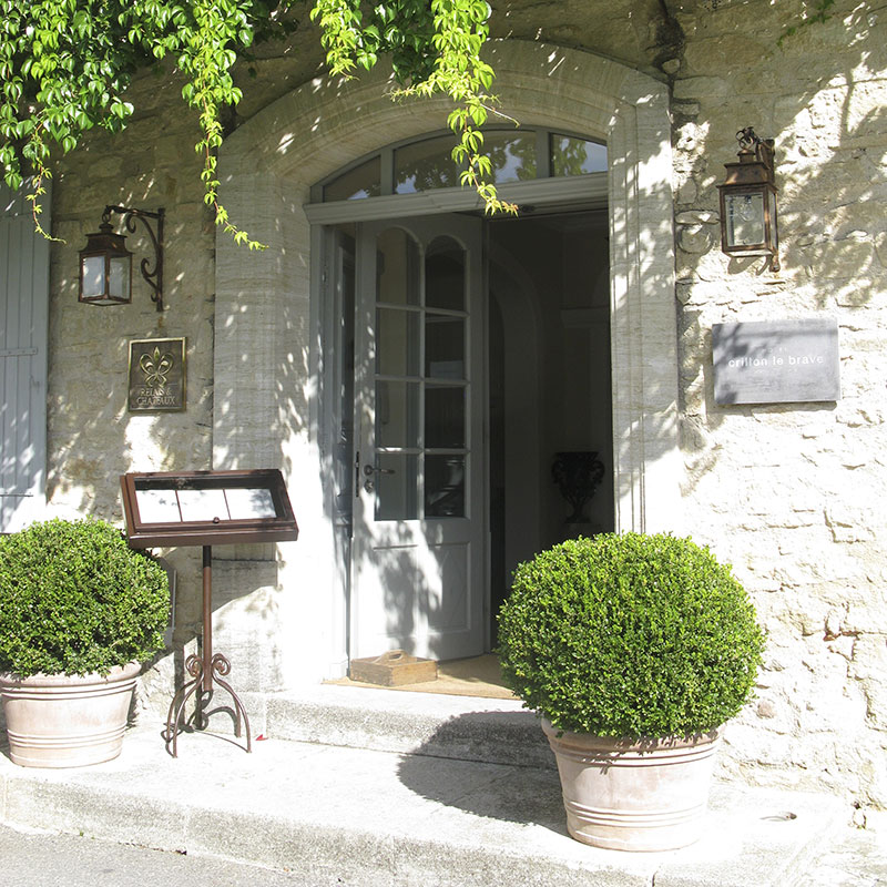 Relais & Chateau entry