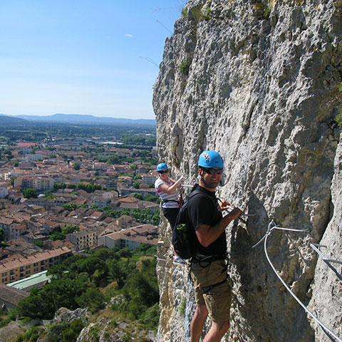 Via Ferrata Wall